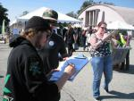 Voters sign a 2014 legalization petition in San Bernardino County
